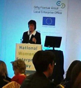 Lorna at National Womens' Enterprise Day