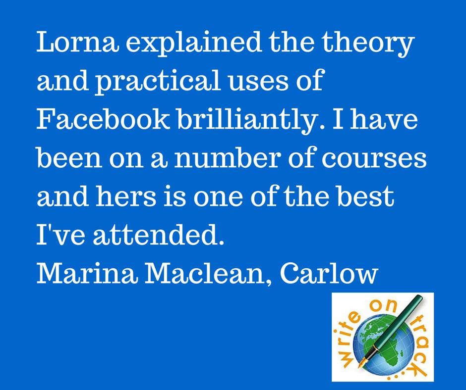 Testimonial for Lorna Sixsmith