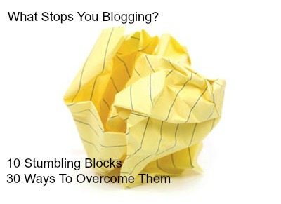 What Stops Your Blogging?
