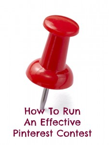 How to run an effective pinterest contest