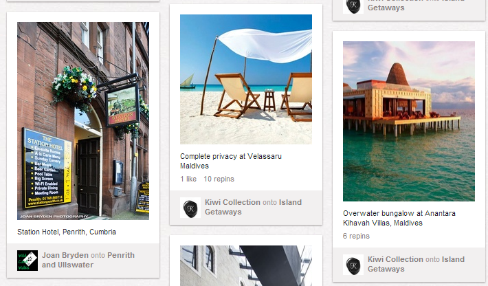 Portrait Images = More Visibility on Pinterest