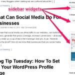 How To Add Widgets To A WordPress Blog