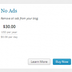 How to blog - how to remove ads from your wordpress blog