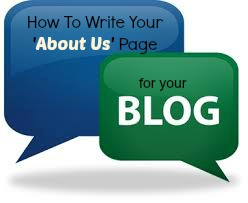 how to write your about us page