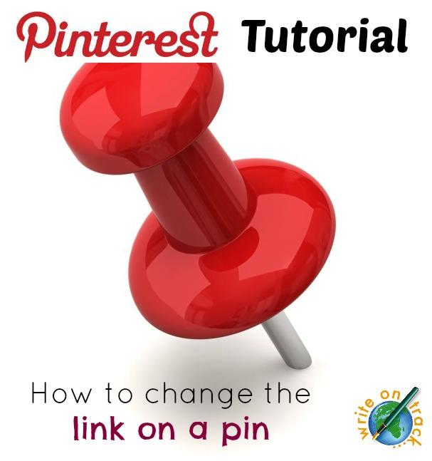 Pinterest tutorial how to change the link on a pin