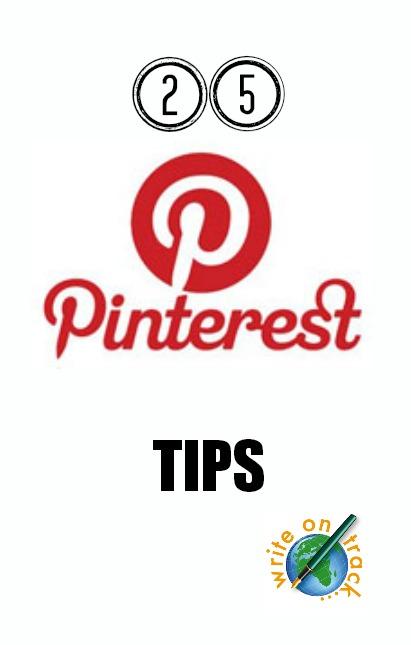 25 Pinterest Tips