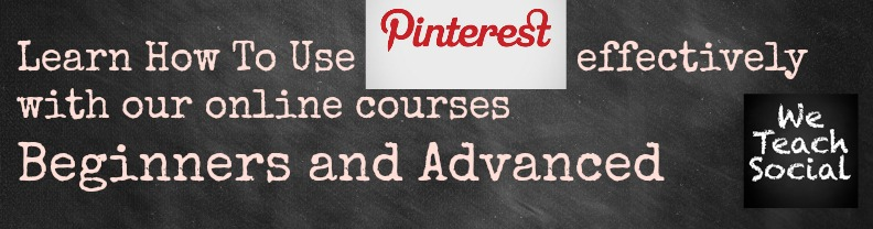 Learn how to use Pinterest with We Teach Social