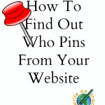 How To Find Out Who Pins From Your Website