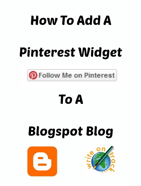 How to add a Pinterest Widget to a blogspot blog