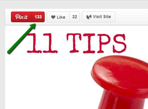 How to tell who has repinned your pins