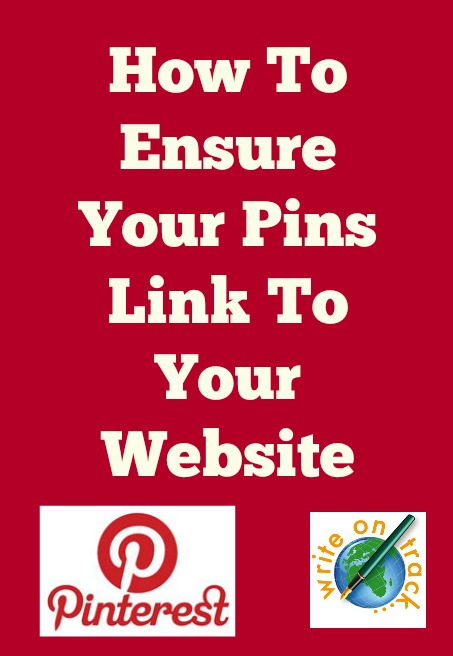 How to ensure your pins link to your website