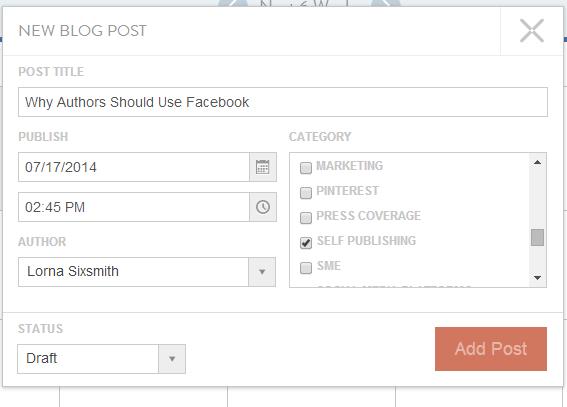 How to schedule posts