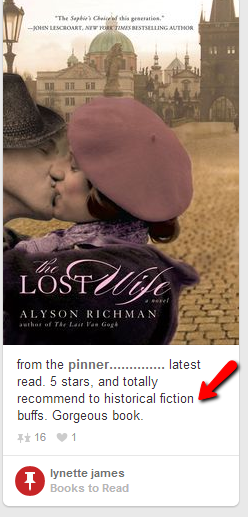 how authors should use Pinterest