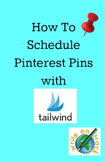 How to schedule pinterest pins with Tailwind