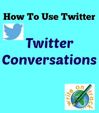 How to use twitter, twitter conversations