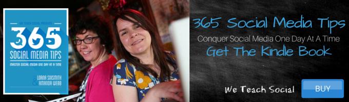 365 Social Media Tips banner