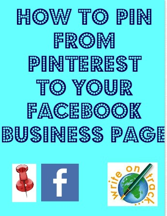 How to pin from Pinterest to your Facebook business page
