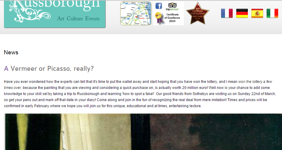 Russborough_House_-_sharing_news_of_events