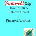 Thursday's Tip: How To Pin Pinterest Boards / Pinterest Accounts
