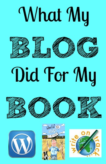 What my blog did for my book