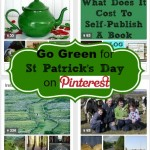 Go green on St Patrick's Day on Pinterest