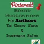 Ten Pinterest Board Ideas for Writers