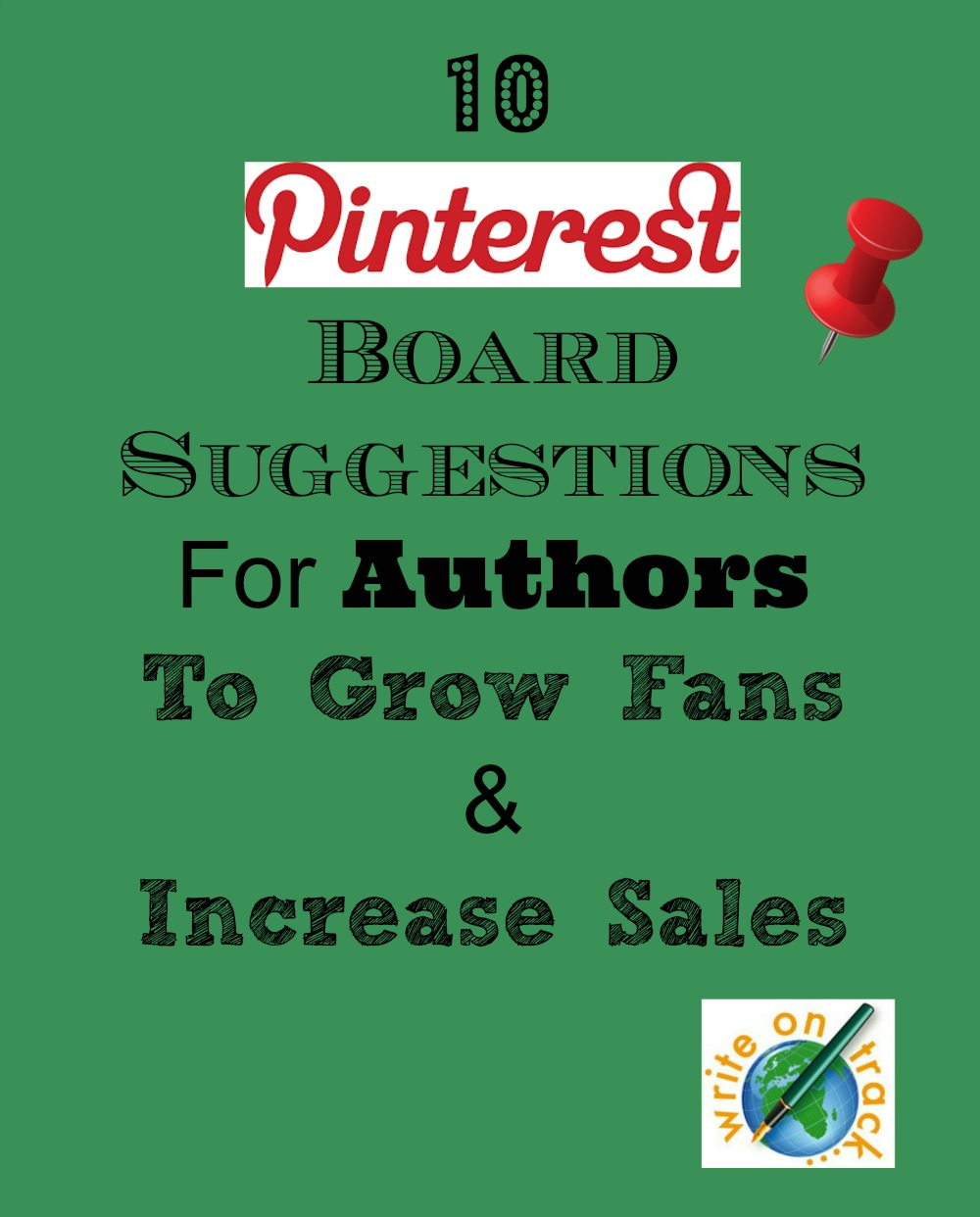 10 Pinterest Board Suggestions for Authors  Writers