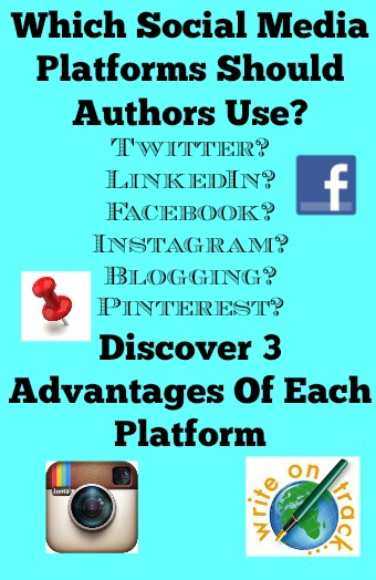 Which social media platforms should authors use