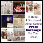 8 Things to remember when trying to get press coverage for your books